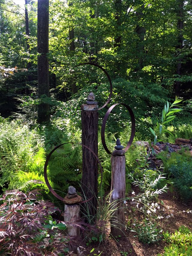Best 25 woodland garden ideas on pinterest garden in the woods sloped backyard landscaping for Hills farm and garden