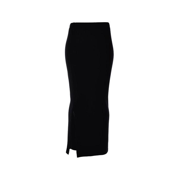 Falda Larga Negra, Desbats, $22.000. Pollera negra de algodón que puedes combinar con lo que estimes conveniente, como todas sabemos que la podrías usar en cualquier momen...
