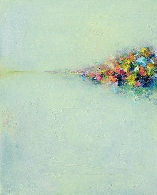 Landscape: Wall Art, Oil Paintings, Abstract Oil, Abstract Art, Yangyang Pan, Art Prints, Abstract Landscape, Visual Art, Landscape Art