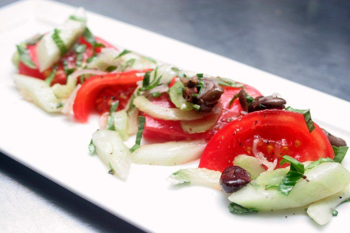 ... mozzarella salad with lemon basil vinaigrette donna stall salads