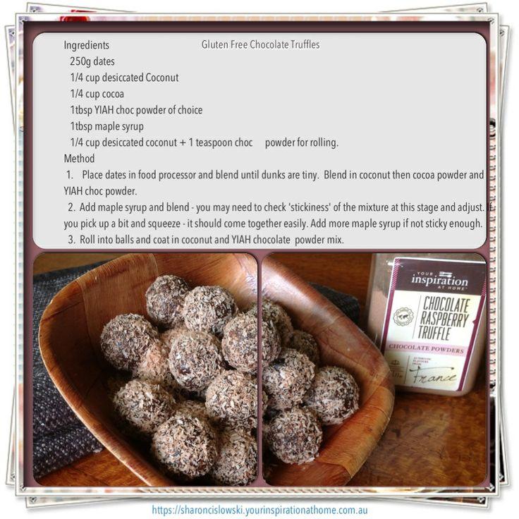 Your Inspiration at Home - Chocolate Raspberry Truffle powder order online @ sharoncislowski.yourinspirationathome.com.au