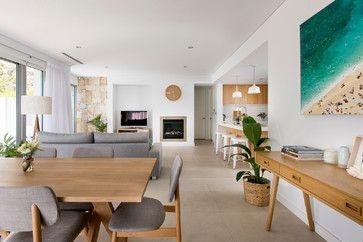 Small beach house - modern - Living Room - Perth - David Wilkes Design