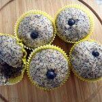 Mini muffins de plátano y chía | REJINILLA REJINILLA