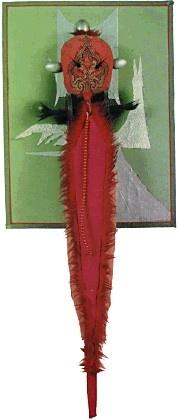 władysław hasior, gwiazda kurortu, 1983, asamblaż