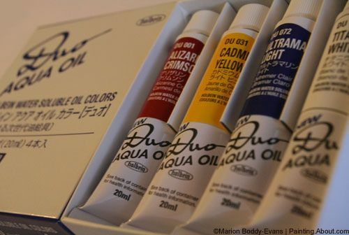 Best 7 Brands of Water Mixable Oil Paints: Holbein Water Mixable Oils: Duo Aqua