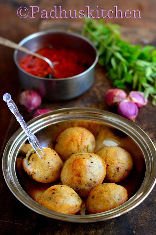 Millet kara paniyaram with spicy kara chutney-a cup of hot Chai- heaven!!