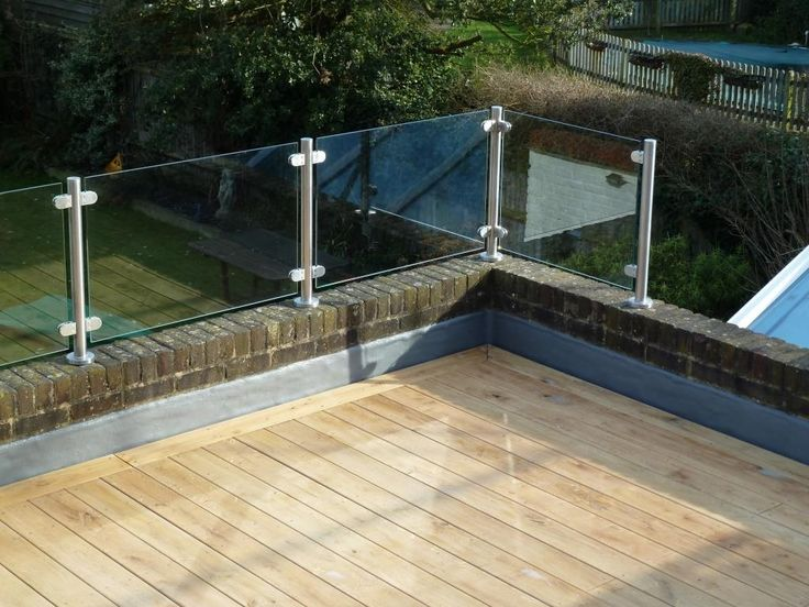 Roof Terrace Wooden Decking
