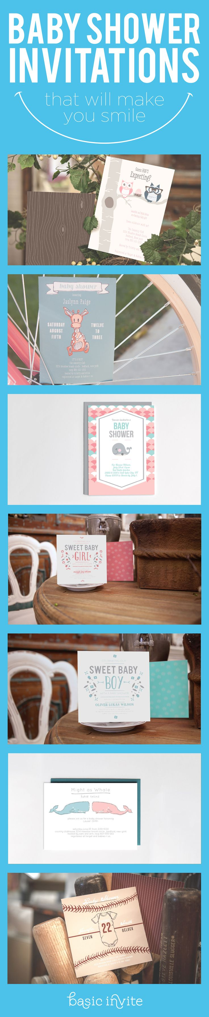 67 best Baby Shower Invitations images on Pinterest