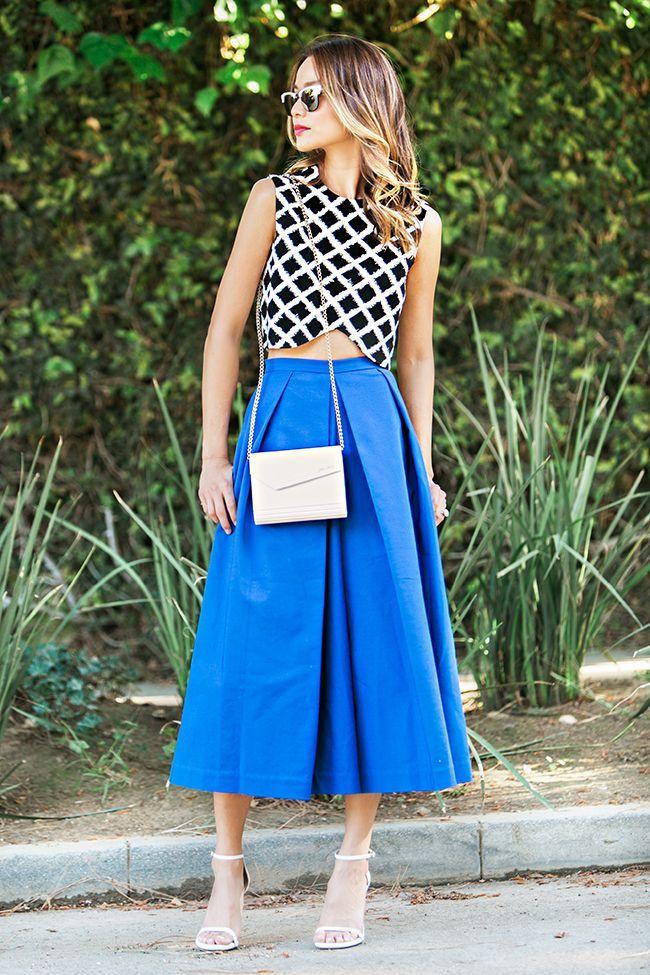 Ismét divatban a nadrágszoknya! Íme, hogyan viseld 2015-ben! | StarShinerS Blog - Your Home of Fashion - Légy különböző!