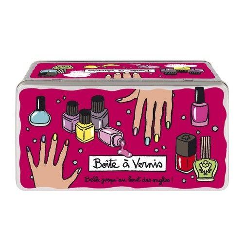 Boîte à vernis Bout des ongles   Boîte de rangement Derrière la porte - Nylin Valérie