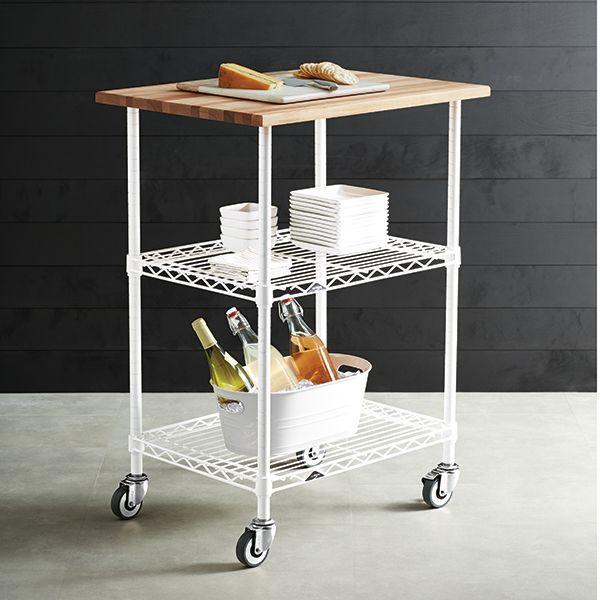 Superior InterMetro Chefu0027s Cart. Container StoreThe ...
