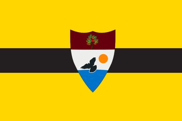Earlier this month, Vít Jedlička, a Czech citizen, declared a tiny new libertarian nation in eastern Europe. It's called Liberland and here's its flag: