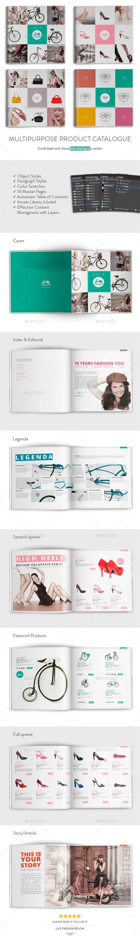 Multipurpose Product Catalogue #product #catalogue