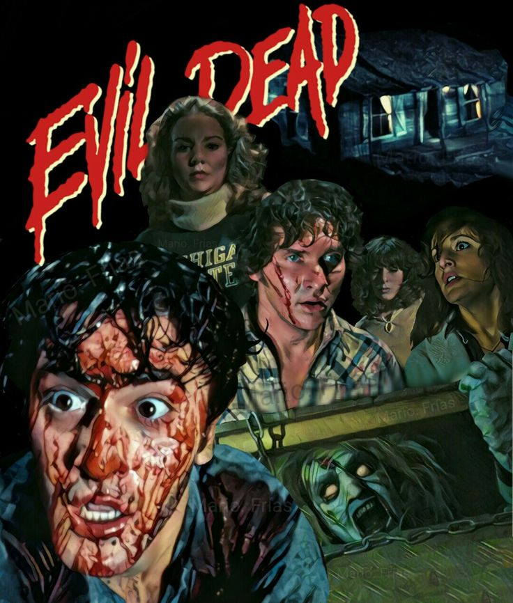 The Evil Dead (1981) by Mario Frias