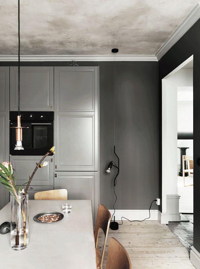 great grey kitchen