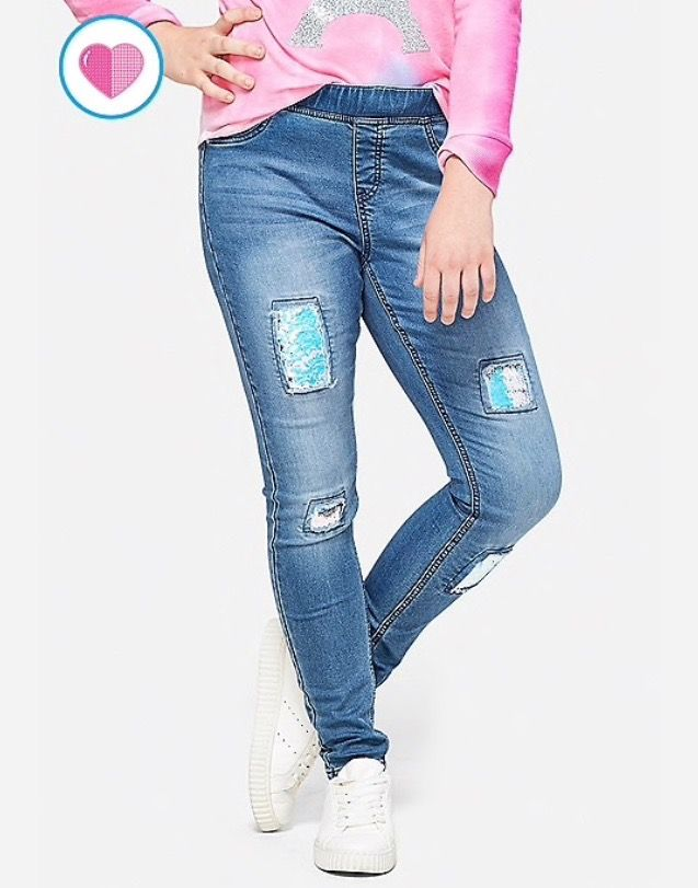 Flip Sequin Pull On Jean Legging Justice Clothing Girls Skinny Jeans Girls Outfits Tween