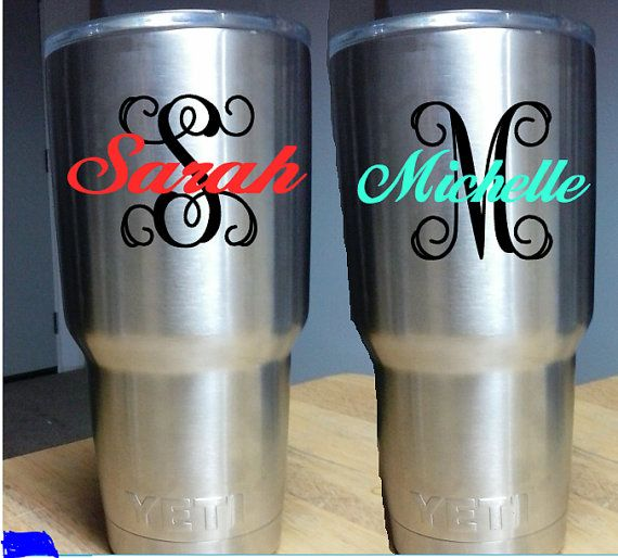 Best  Yeti Cup Decal Ideas On Pinterest Monogram Cups Yeti - Yeti tumbler stickers