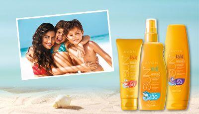 Avon Sun Kids Proteção Alta