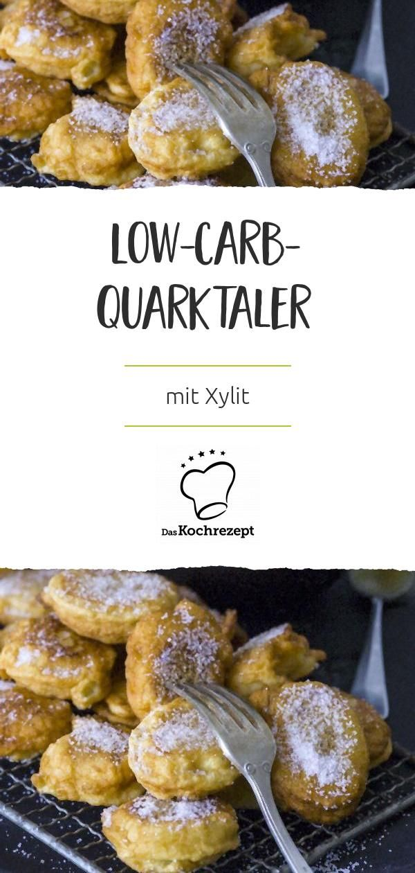 Low-Carb-Quarktaler