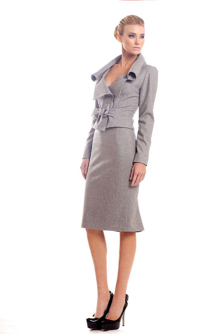 Wool blend stretch tweed suit. Tsyndyma.  http://www.etsy.com/shop/tsyndyma?ref=si_shop