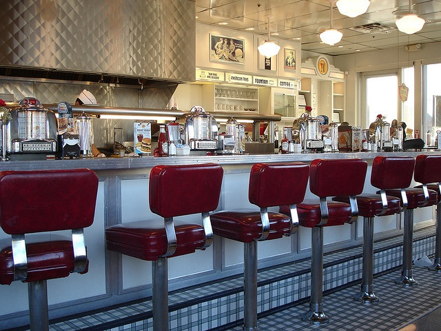 old fashioned dining brought back to modern day, Johnny Rockets
