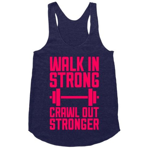 You know it's been a successful leg day when the soreness really kicks in. When you're ready to hit the gym, grab this fierce fitness shirt and make your workout one to remember.