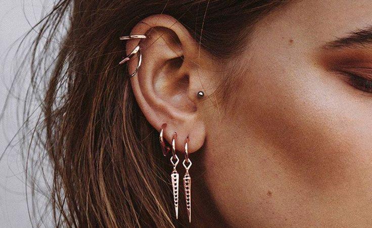 Diese Ohren-Piercings sind jetzt Trend