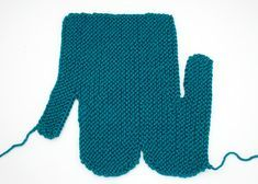 Easiest Mitten Knitting Pattern EVER!