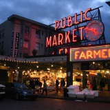 i'd like to go to Pikes Place Market, Seattle.