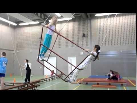 Bewegingsonderwijs Visnet - YouTube