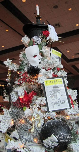 A Broadway Christmas tree