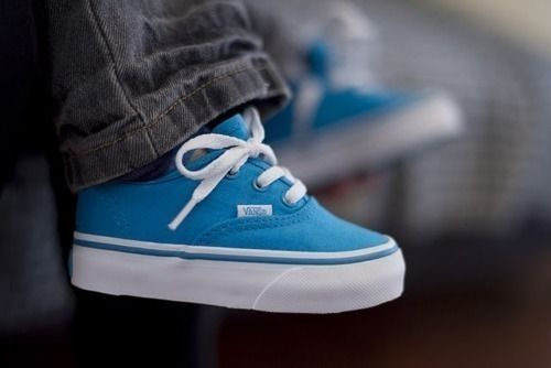 baby vans to match mine. i have that same color! (plus maaaany more colors,heh).