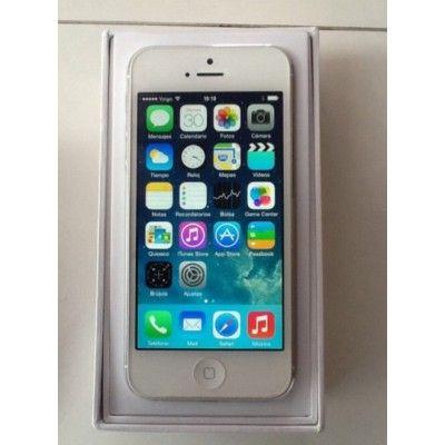 iPhone 5 blanco 16 GB en perfecto estado, un 10 sobre 10; lo entrego con Caja, Cascos y Cargador de  Batería. Es de la operadora Yoigo. Para cualquier consulta no duden en ponerse en contacto conmigo en: ¿QUIERES CONTACTAR CON EL VENDEDOR?