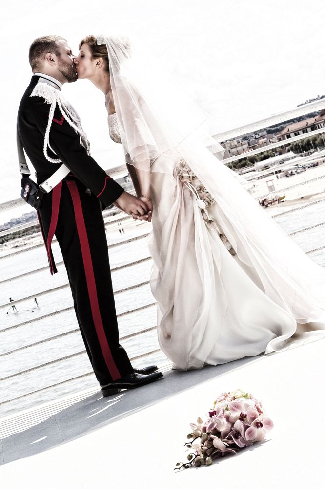 Matrimonio Lisa e Roberto - policeman's wedding in Senigallia - Carabinieri - Find out more at: www.new-photo.net - professional wedding photographer on Bologna (© New Photo)