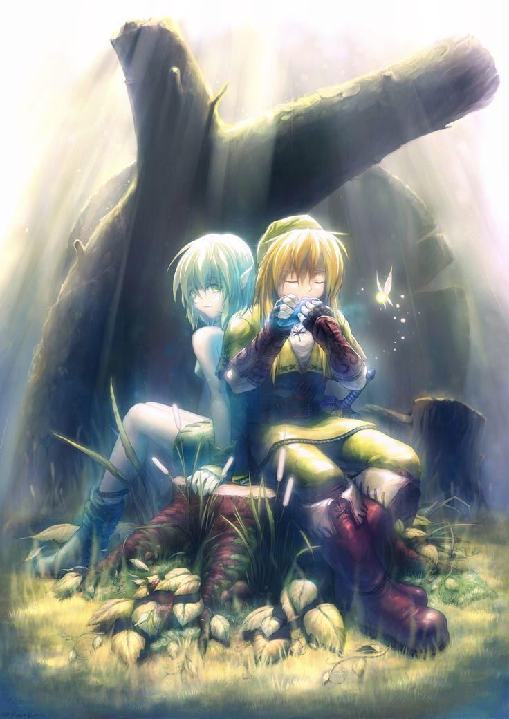 Saria :: The Legend of Zelda :: сообщество фанатов / красивые картинки и арты, гифки, прикольные комиксы, интересные статьи по теме.