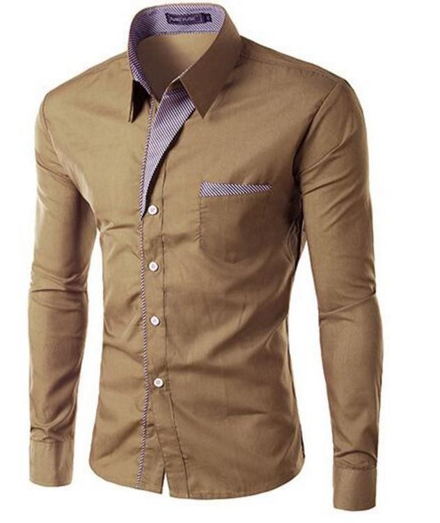 Elegantní pánská slim košile khaki – Velikost L Na tento produkt se vztahuje nejen zajímavá sleva, ale také poštovné zdarma! Využij této výhodné nabídky a ušetři na poštovném, stejně jako to udělalo již velké množství …