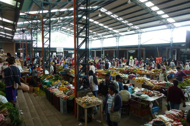 The market itself. Great place to buy fruits and veggies.