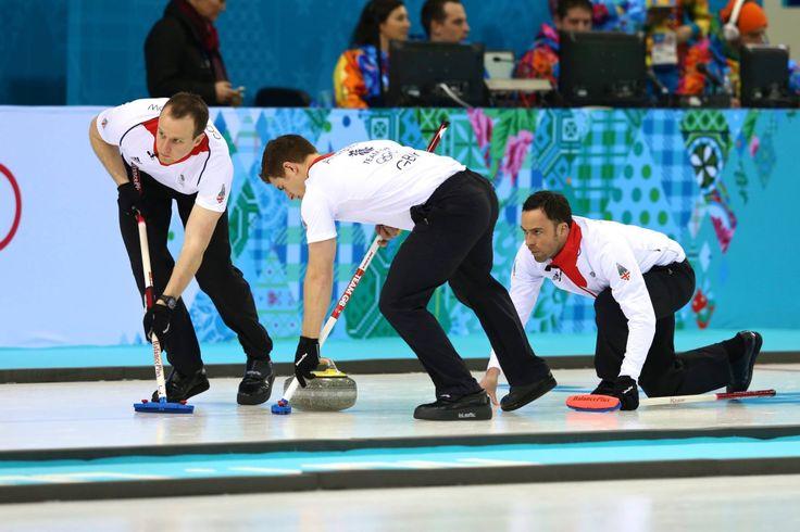 Team GB Curling Team.