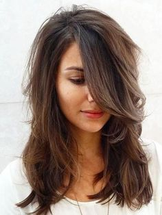 Long Layered Hairstyle for 2016 Thick Hair