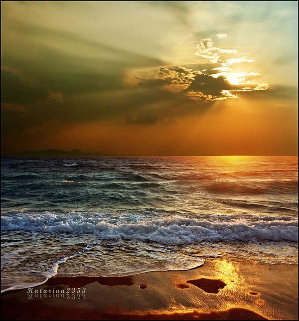 !: Photos, God, Nature, Sunsets, Beautiful, Sunrise Sunset, Ocean, Beach, Place