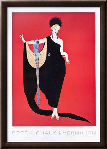 Glamour Collectable Print by Erté at AllPosters.com