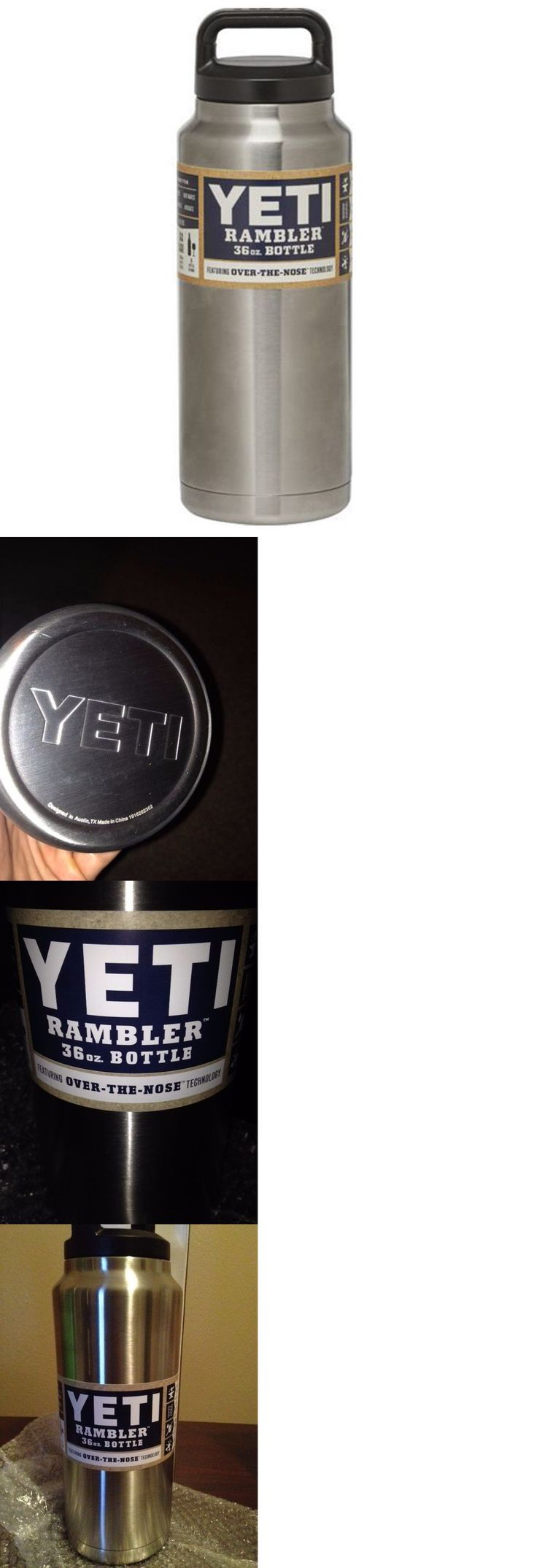 Other Camping Cooking Supplies 16036: #Yeti Rambler Stainless Steel Coffee Mug Cup Insulated 36 Oz Rambler Bottle New# BUY IT NOW ONLY: $33.99