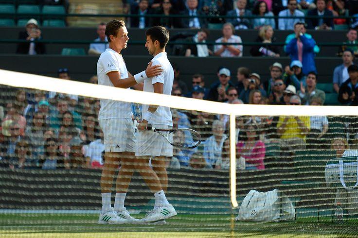 Djokovic gibt auf wegen Ellbogen-Verletzung vs Berdych !!