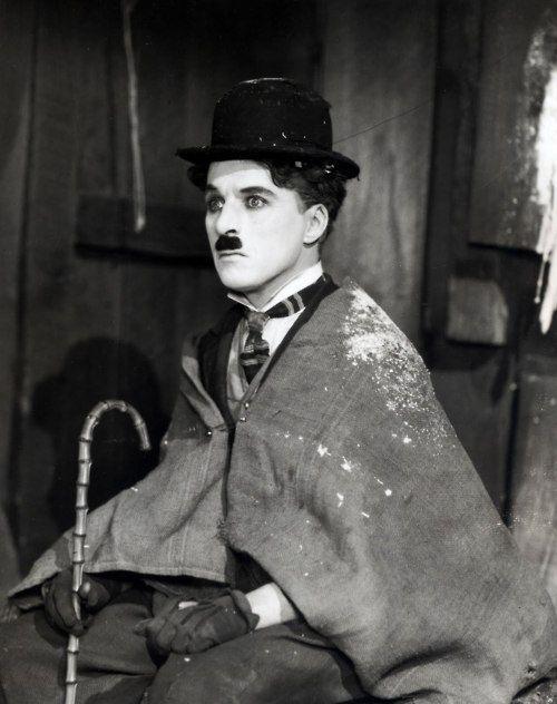 "Charles Chaplin en ""La Quimera del Oro"" (The Gold Rush), 1925"