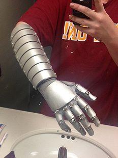 Brazo robótico de espuma   -   arm foam robotics