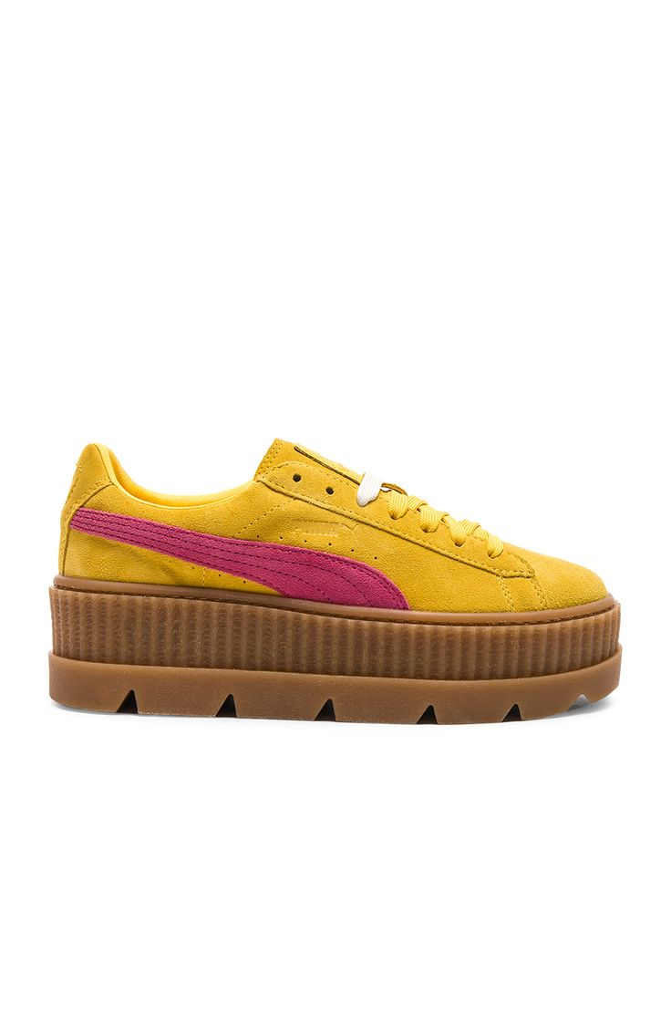 FENTY BY PUMA   Cleated Suede Creeper Sneakers #Shoes #FENTY BY PUMA