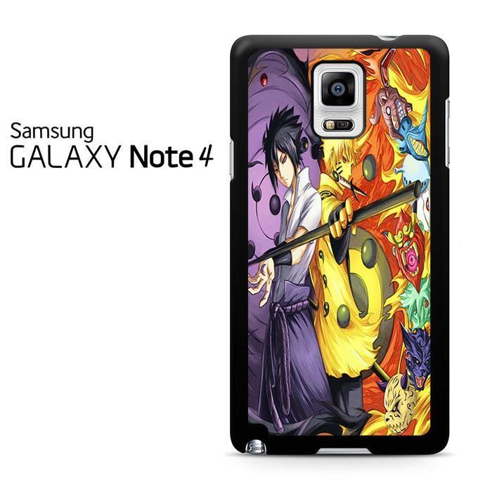Naruto Dan Sasuke Rikudo Sennin Samsung Galaxy Note 4 Case