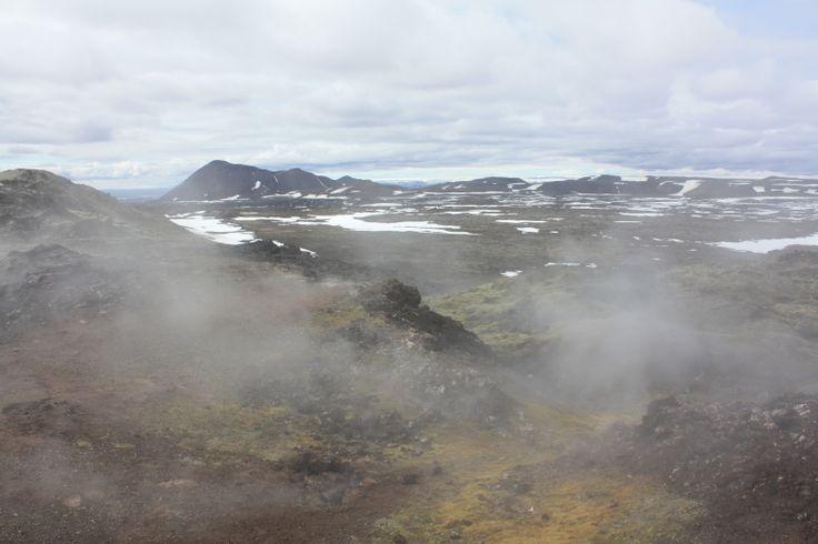 Leirhnjukur lava fields