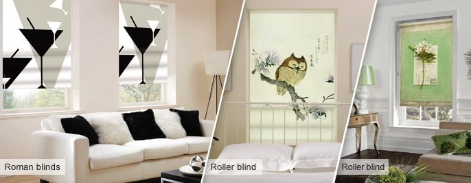 Roller Blinds, Funky Blinds, Childrens Blinds, Creatively Different Blinds