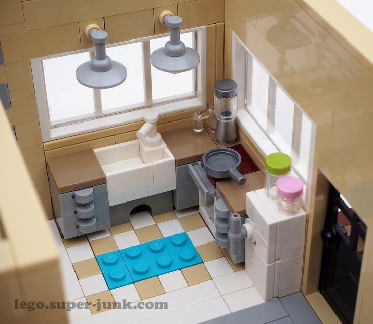 Modern Studio Interior Kitchen by Super*Junk